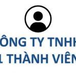 thủ tụcthành lập công ty TNHH một thành viên