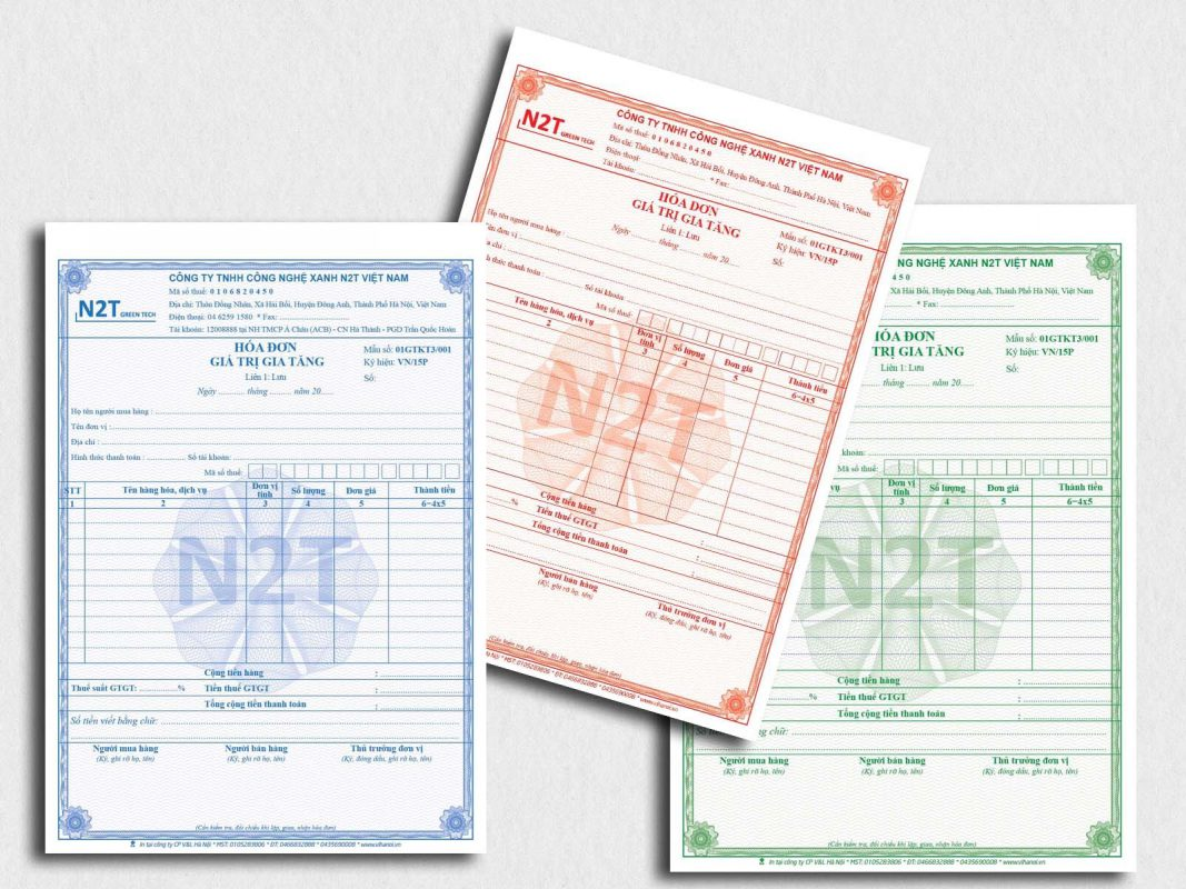 Hóa đơn thuế giá trị gia tăng cho doanh nghiệp